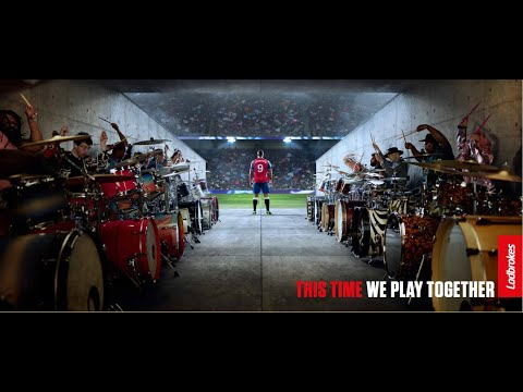 """Ladbrokes UK ad for the Euros, """"Drummers"""""""
