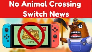 No Animal Crossing Switch News