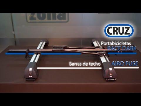Transporta tu bicicleta con barras de techo y portabicicletas CRUZ