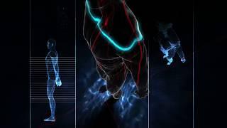 The human body HD video
