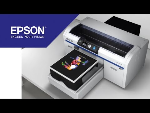 Tutorial: How to print a T-shirt with the SureColor SC-F2000 | Epson