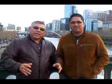 Apóstol Luis Morales y Josh Morales en Australia