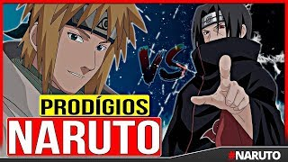 5 Ninjas PRODÍGIOS do Anime Naruto 👏👏
