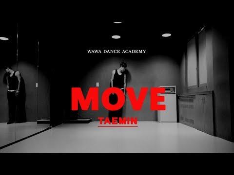 TAEMIN(태민) - MOVE(무브) DANCE MIRRORED 안무 거울모드 COVER [WAWA DANCE ACADEMY 와와댄스 마포본점]