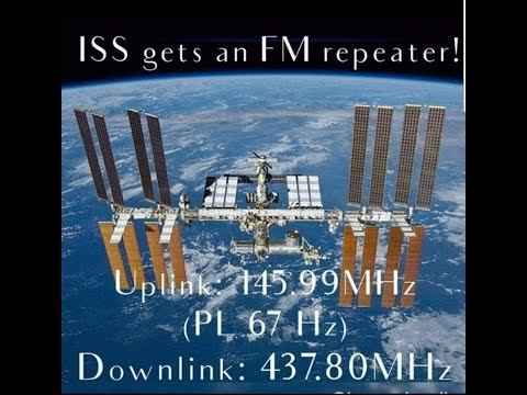 How to program yr Yaesu for ISS Repeater