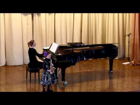 GOLDEN SAXOPHONE 2015 Anastasiya Rasskazova -Alain Crepin, Le Jeux de Panda