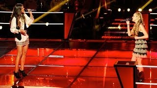 The Voice Battle Round   Caroline Glaser VS Danielle Bradbery   Put Your Records On
