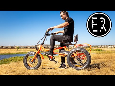 COMFY CRUISER TRIKE with TONS OF TORQUE! AddMotoR MOTAN M-360 electric bike review