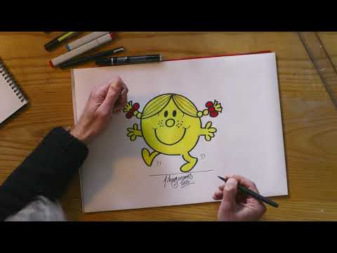 marksandspencer.com & Marks and Spencer Promo Code video: M&S | How to draw Little Miss Sunshine with Adam Hargreaves