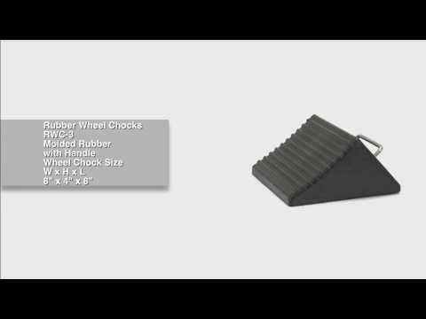 Rubber Wheel Chocks RWC-3
