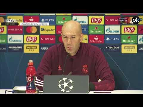 Sigue en DIRECTO: Rueda de prensa de Zidane previa al partido de Champions