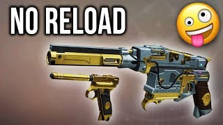 What happens when try the NO RELOAD challenge... (Destiny 2)