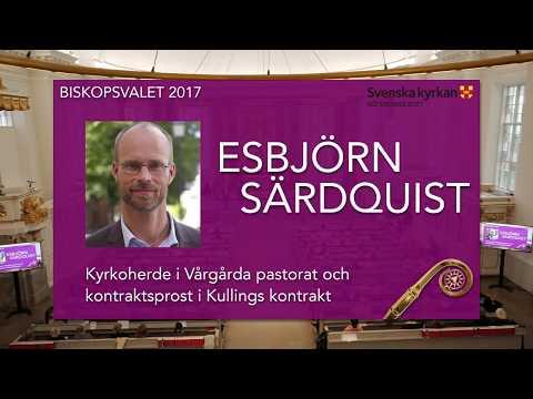 Esbjörn Särdquist - Biskopsvalet 2017 Göteborgs Stift