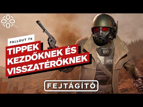 Fallout 76: Tippek kezdőknek és visszatérőknek
