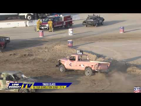 AV Fair: Truck Demo Derby 2018