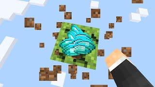 Minecraft One Block Skyblock, but every drop is random...