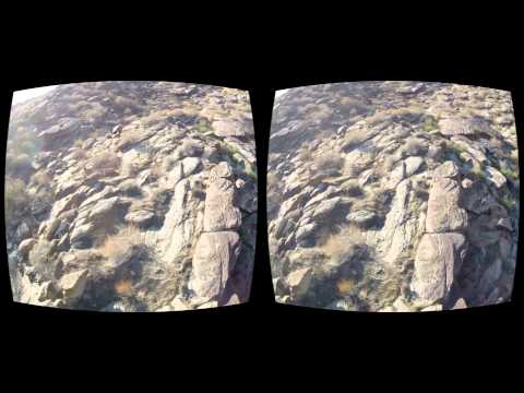 Oculus Rift 3D FPV Quadcopter - 3D FPV Quadcopter - Palm Springs Dirt Ride