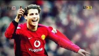 Cristiano Ronaldo All Goals 03-04 First Season Manchester United HD By S-S