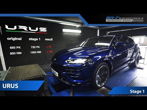 Lamborghini Urus 720 Hp Stage 1 By BR-Performance