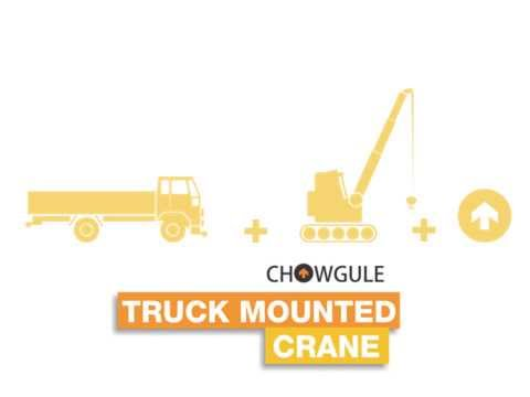 Truck Mounted Crane (Material Handling Equipment)