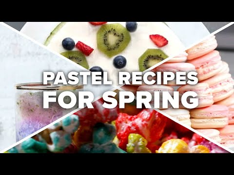 Pastel Recipes For Spring ? Tasty Recipes