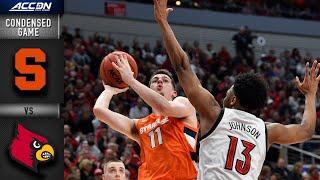 Syracuse vs. Louisville Condensed Game | 2019-20 ACC Men's Basketball
