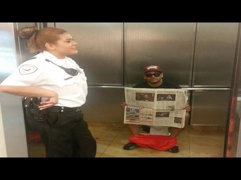 Funniest Elevator Prank