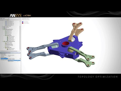 ANSYS in Action - Topology Optimization