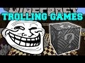 Minecraft: ROBOT ALIEN TROLLING GAMES - Lucky Block Mod - Modded Mini-Game
