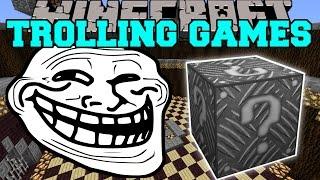 Minecraft: ROBOT ALIEN TROLLING GAMES - Lucky Block Mod - Modded Mini-Game