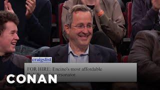 Audience Craigslist: Bob Saget Impersonator Edition  - CONAN on TBS