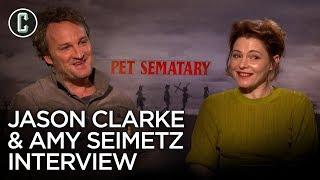Pet Sematary Jason Clarke & Amy Seimetz Interview