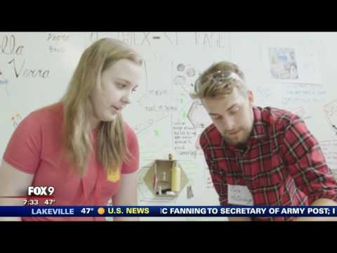Worrell Design Camp featured on Fox 9 Morning News