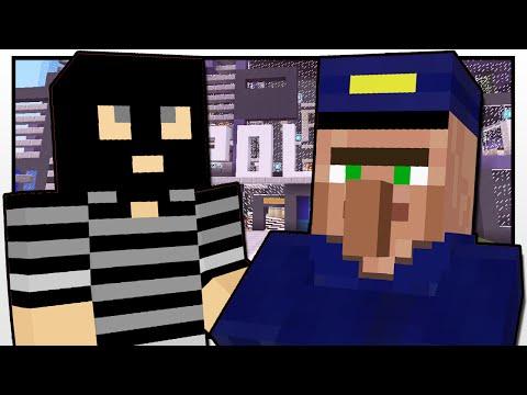 Minecraft | POLICE STATION MISSION | Custom Mod Adventure