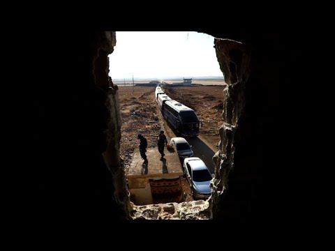 بدء التحضيرات لإجلاء سكان بلدتي الفوعة وكفريا في سوريا
