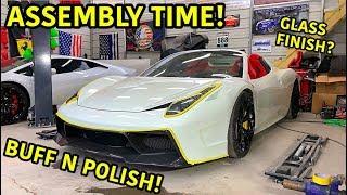 Rebuilding A Wrecked Ferrari 458 Spider Part 13