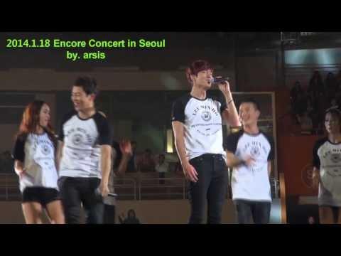 직캠)  2014.1.18 이민호 Encore Concert in Seoul -  Say Yes ★  ( by. 아르시스 )
