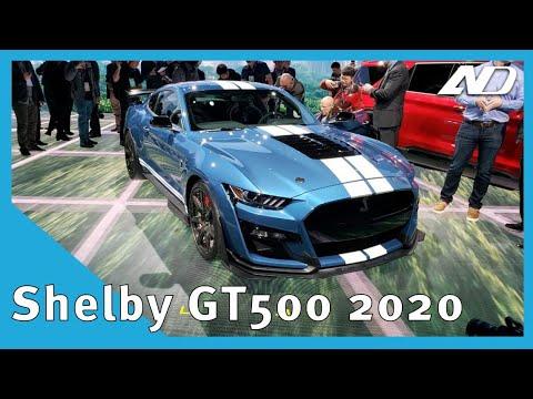 Mustang Shelby GT500 2020 - Les tengo buenas y malas noticias | NAIAS2019
