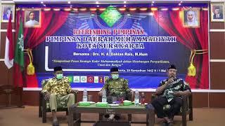 REFRESHING PIMPINAN MUHAMMADIYAH KOTA SURAKARTA OLEH KH. Drs. A. Dahlan Rais, M. Hum