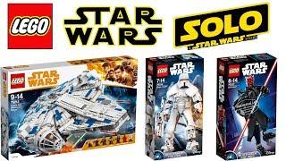 Lego Star Wars Han Solo a Star Wars Story 2018 Sets