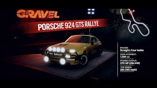 "Porsche in the offroad racing game ""Gravel"""