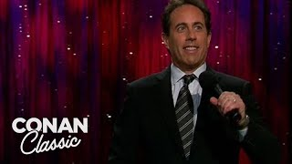 "Jerry Seinfeld On Getting Married At 45 - ""Late Night With Conan O'Brien"""