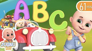 ABC Songs - Alphabet Song learning for kids  - Learn English with Songs for Children   Jugnu Kids
