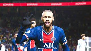 PES 2021 - Paris Saint-Germain Vs. Olympique de Marseille - Le Classique Full Match Gameplay | HD