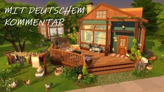 Sims 4 Speed Build DEUTSCH - TINY OFF-GRID HOUSE