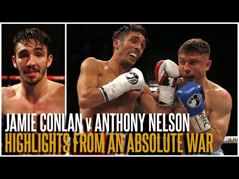 JAMIE CONLAN v ANTHONY NELSON (HIGHLIGHTS) | 2016 BRITISH FIGHT OF THE YEAR | THE QUEENSBERRY VAULT