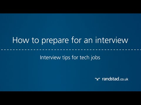 How to prepare for an interview: Interview tips for tech jobs