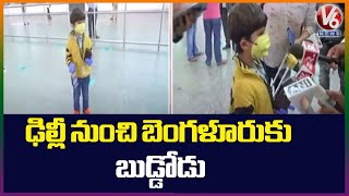 Viral video: 5-Year-Old boy travels alone on flight from D..