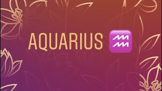 Aquarius 2020 January 15-31 * They want to Talk to you SO bad , They Miss You , Love Offer Coming *