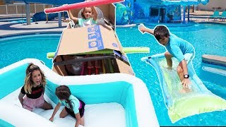 LAST TO SINK & FALL in the POOL!! Wins $500!!!